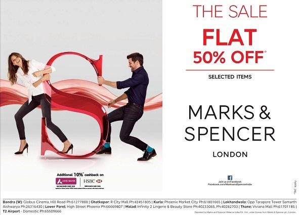 Marks & Spencer offers India