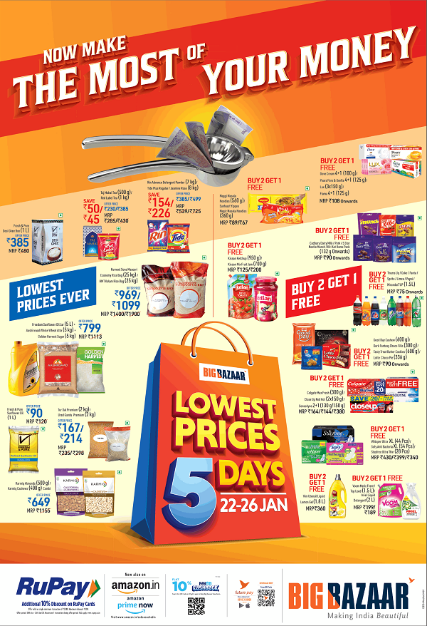 Big Bazaar offers India