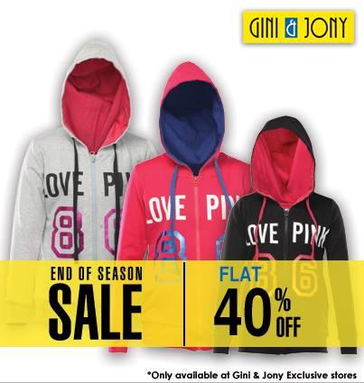 Gini & Jony offers India