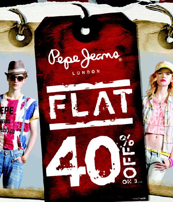 Pepe Jeans offers India