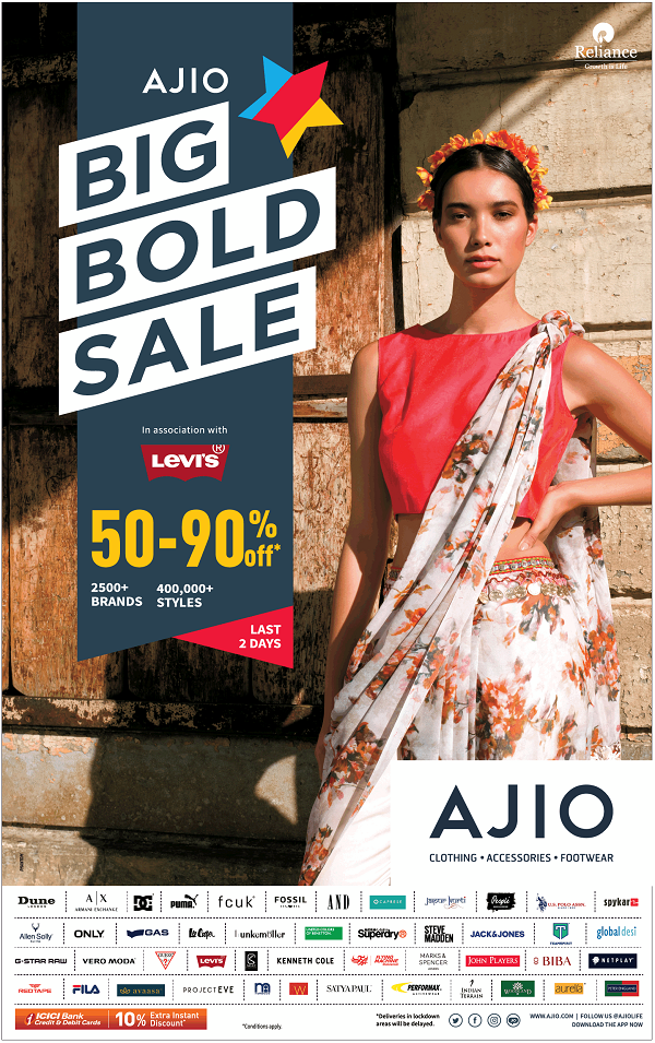 Levis offers India