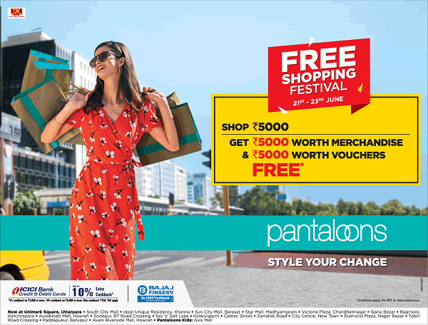 Pantaloons offers India