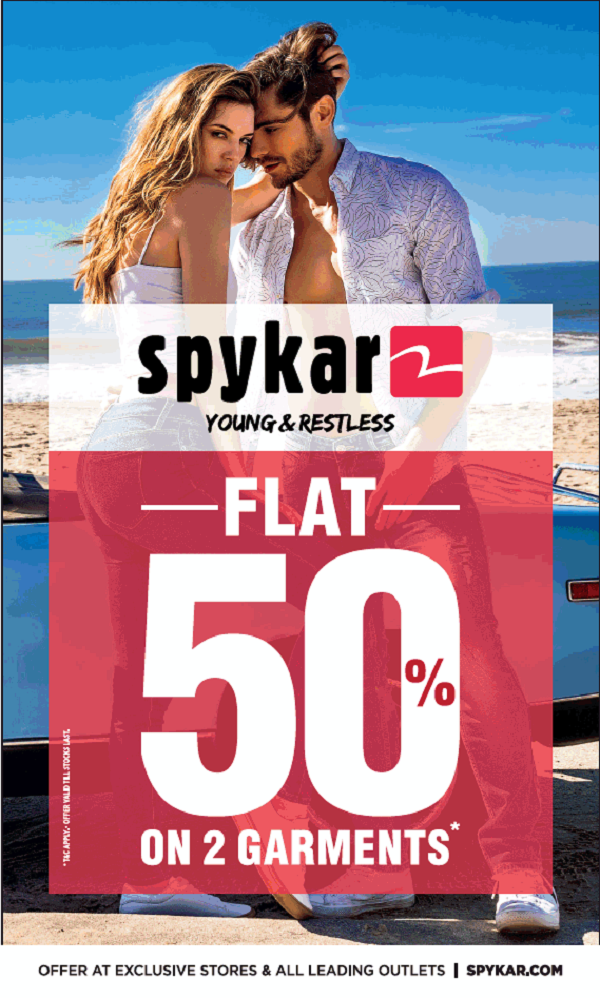 Spykar offers India