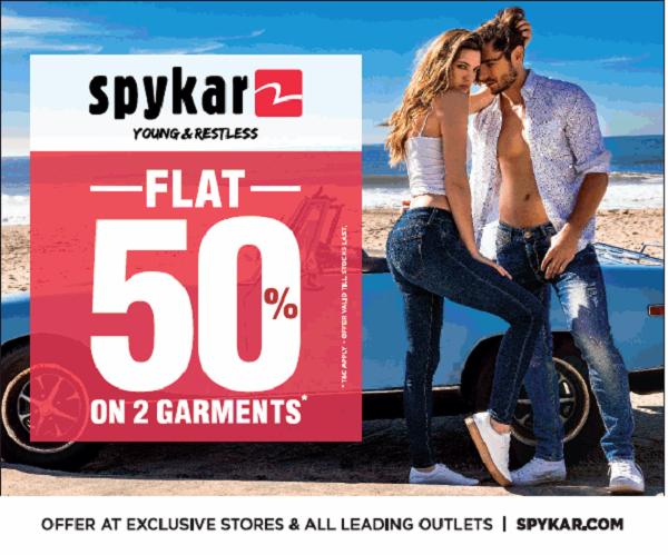 Spykar offers India