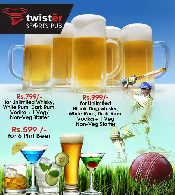 Twister offers India