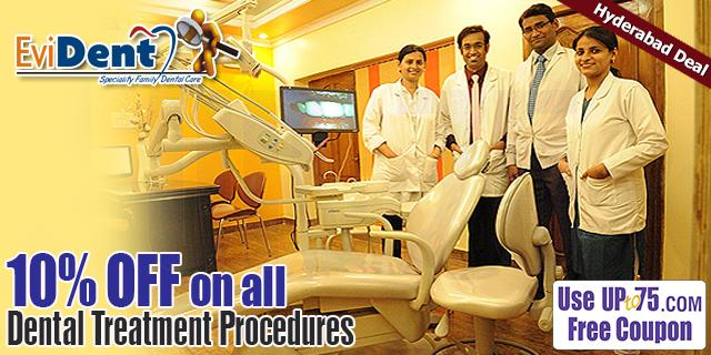 EviDent Speciality Family Dental Care offers India