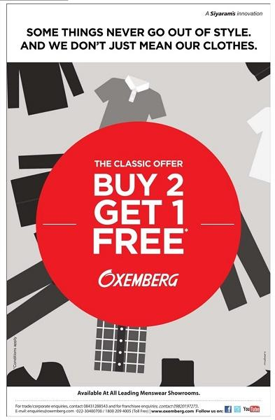 Oxemberg offers India