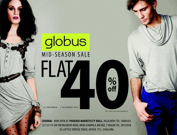 Globus offers India