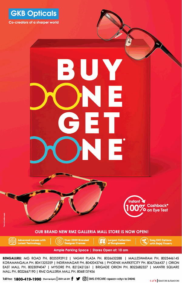 GKB Opticals offers India