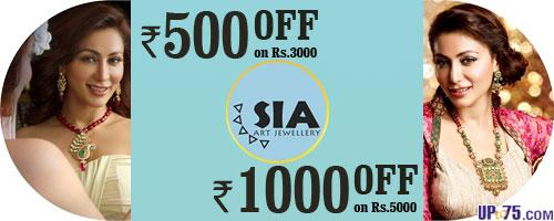 SIA Art Jewellery offers India