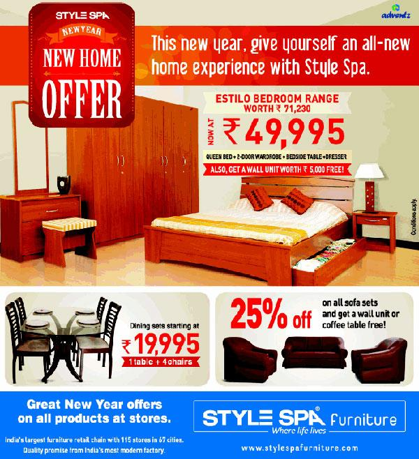 Style Spa Furniture offers India