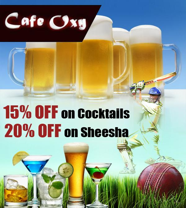 Cafe Oxy offers India