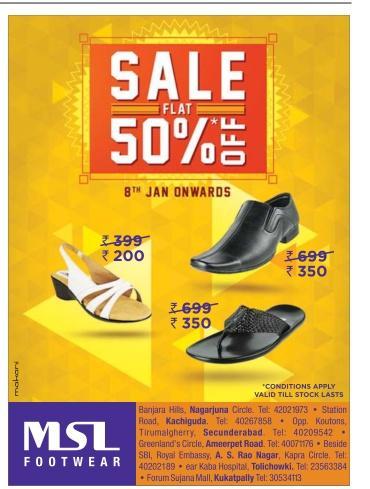 MSL Footwear offers India