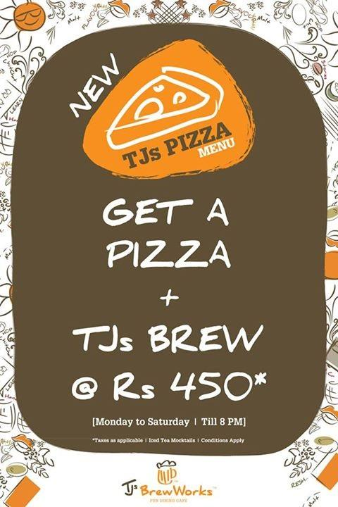TJs BrewWorks offers India