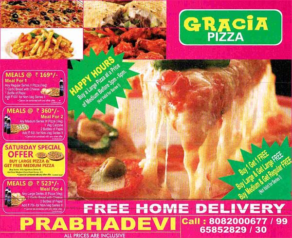 Garcias Pizza offers India