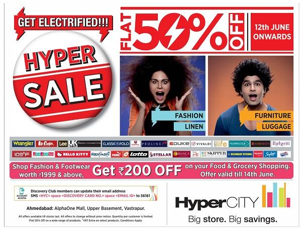 HyperCity offers India