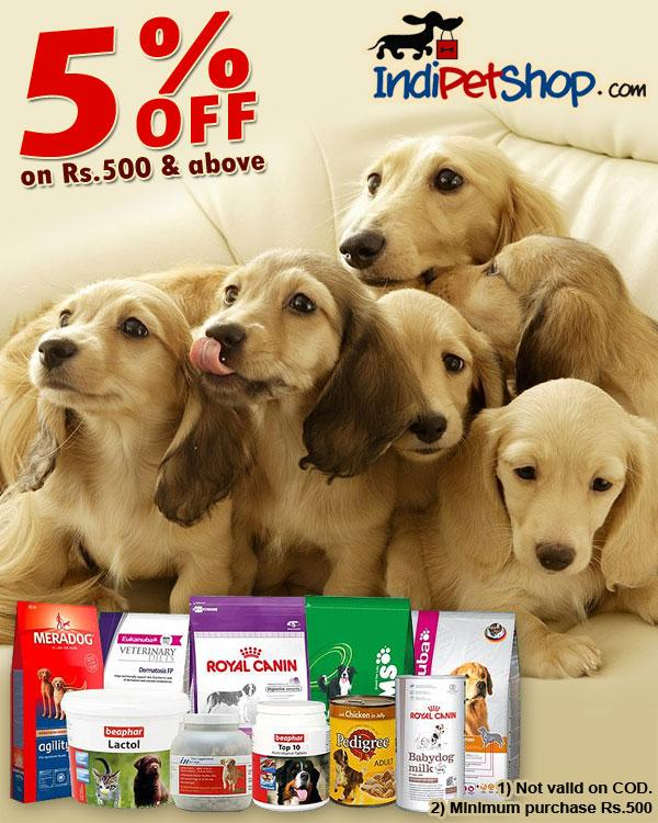 IndiPetShop offers India