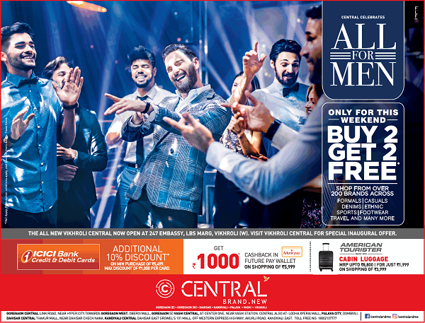 Central offers India