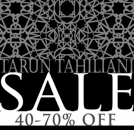 Tarun Tahiliani offers India