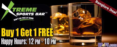 Xtreme Sports Bar offers India