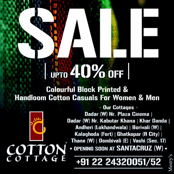 Cotton Cottage offers India