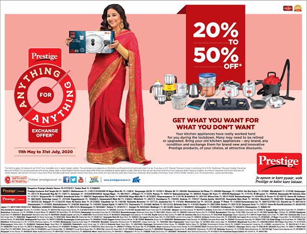 Prestige offers India