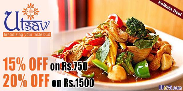 Utsav Restaurant offers India