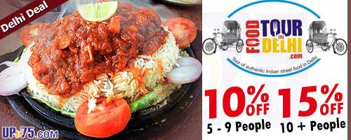 Food Tour in Delhi offers India