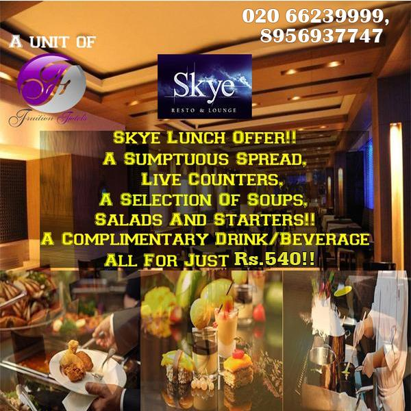 Skye Lounge offers India