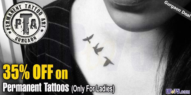 Permanent Tattoo Art offers India