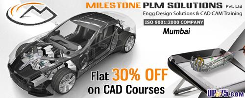 Milestone CAD Training Institute offers India