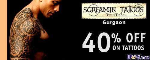 Screamin Tattoo Studio offers India
