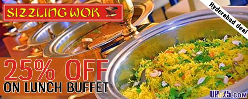 Sizzling Wok offers India