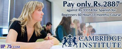 Cambridge Institute Spain offers India