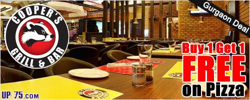 Coopers Grill & Bar offers India