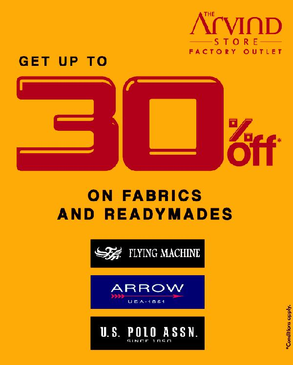 The Arvind Factory Outlet offers India