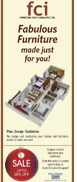 FCI Furniture offers India