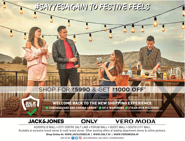 Jack and Jones offers India