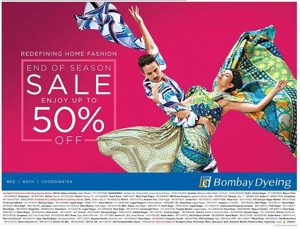 Bombay Dyeing offers India