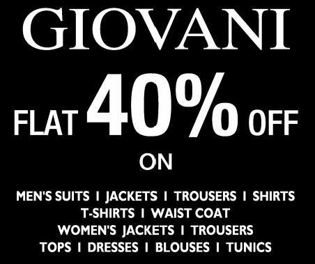 Giovani offers India