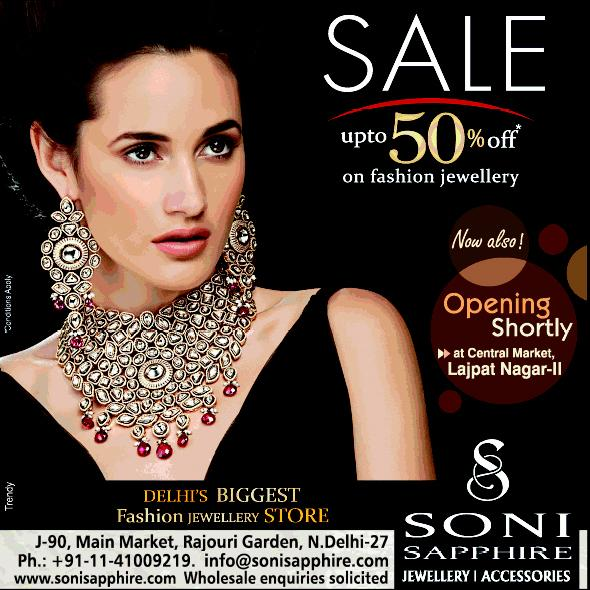 Soni Sapphire offers India