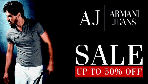 Armani Jeans offers India
