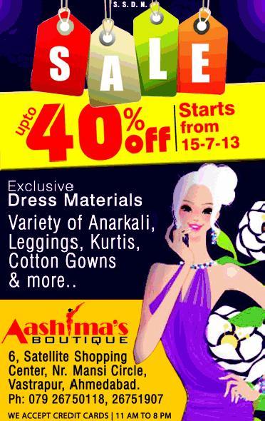 Aashimas offers India
