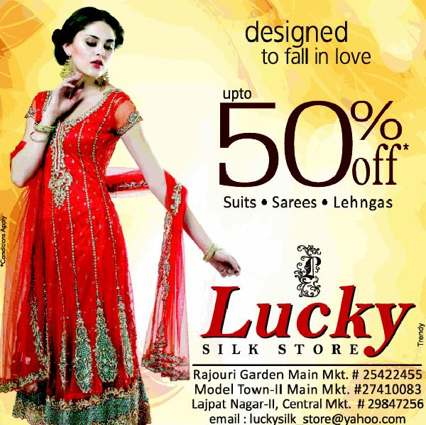 Lucky Silk Store offers India