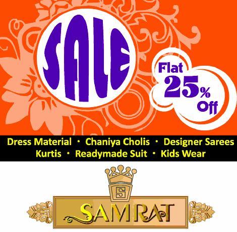 Samrat offers India