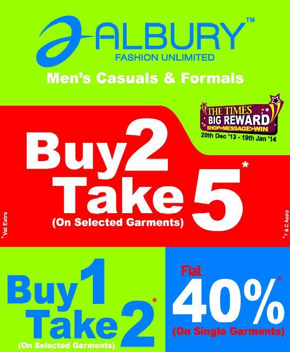 Albury offers India