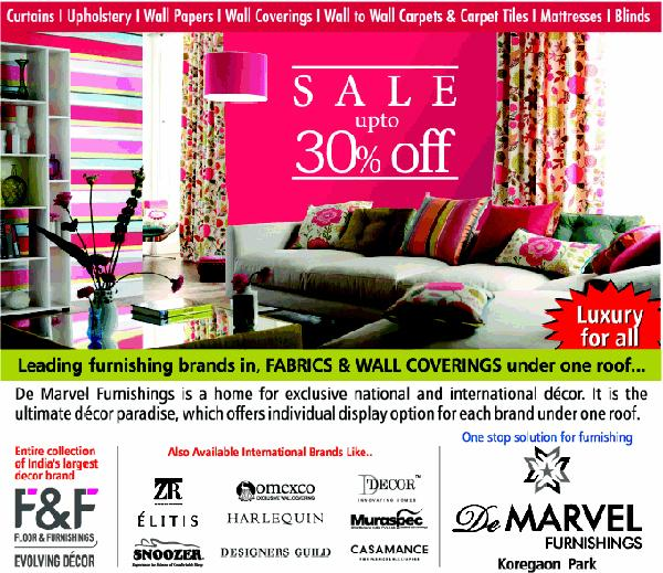De Marvel Furnishings offers India