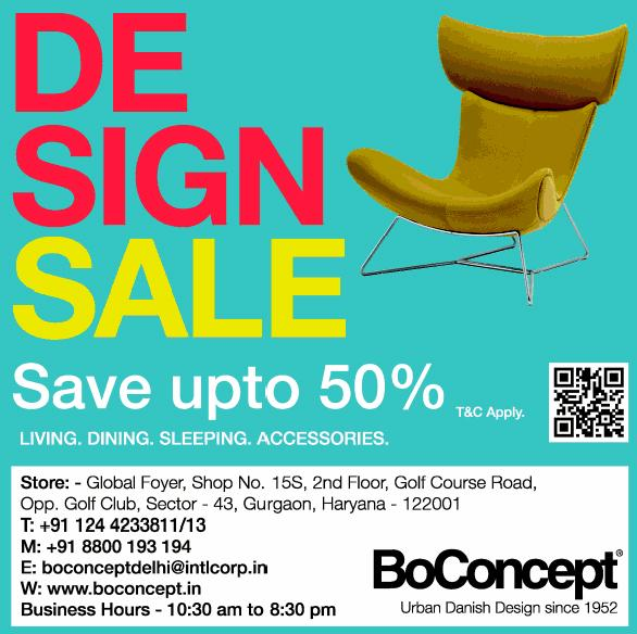 BoConcept offers India