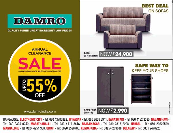 Damro offers India