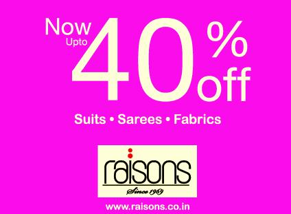 Raisons offers India